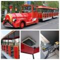 旅游景区40座蒂森锂电池观光小火车