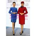 空姐职业套装 南航空姐工装定做上海亿妃服饰