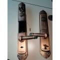 江西指纹锁家用防盗门锁智能电子锁密码锁刷卡锁微信大门木门锁