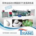 云南塑料網套生產機器,石林人參果網套機設備