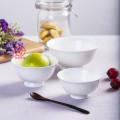 酒店陶瓷餐具碗盘勺四件套定制logo