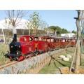蒂森沙漠觀光小火車軌道觀光列車
