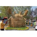创意稻草人雕塑出售编制0