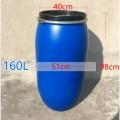 160升开口法兰塑料桶