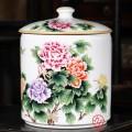 陶瓷茶饼罐定做批发 景德镇茶叶罐定做厂家