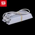 东莞 80W 白色梯形铝壳大功率台达变频器制动电阻
