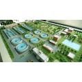 污水处理厂模型,房屋整体结构给排水系统模型,水泵及泵站模型