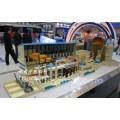 湖南中教高科1000MW压水堆核电站模型,核电站一回路模型