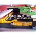 综掘采煤工艺仿真模型,联体破碎站模型,煤矿提升机模型