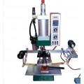 多功能自动烫金机竹木平面曲面皮革塑胶塑料商标烙印烫金机