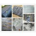 至美石材厂供应天然板岩冰裂纹青石板石板瓦碎拼石