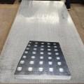 惠华9.5mm钢板纤维混凝土防爆板,防爆泄压板