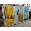 郑州冰晶画,成品三联画哪家专业 沙河钛美画业