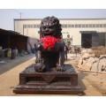 铜狮子铜雕-狮子-博创雕塑