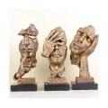 欧洲人头雕塑-博创雕塑