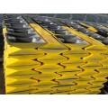 大量供应交通减速带 国标铸钢减速带广州交通设施
