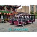 蕪湖14座電動觀光車,封閉觀光游覽車(廠家信息)
