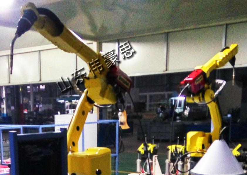 供应自动焊接机器人 变压器激光焊接机器人