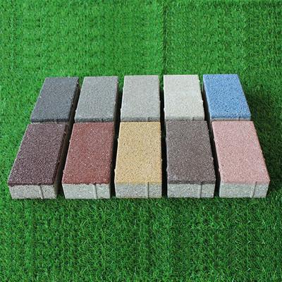 生态陶瓷透水砖与积水路面说拜拜