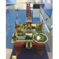石油钻机模型,采?#25512;教?#27169;型,海上采油船模型