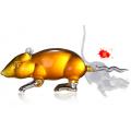 生肖动物造型玻璃酒瓶 动物造型老鼠酒瓶