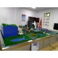 发电厂模型,光伏建筑一体化展示模型,风光互补一体化模型
