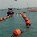 海上柔性管道浮漂 宁波管道浮筒厂家