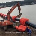 三亚海上抽沙管道浮筒 港口疏浚浮体厂家