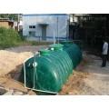栾川玻璃钢化粪池 机械缠绕玻璃钢化粪池厂家