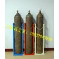 40L氧气瓶放置架氮气瓶乙炔落地支架钢瓶固定架子可定制
