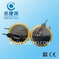 3V引脚电池 立式插脚CR2032焊脚电池