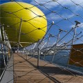 鸟语林网 玻璃栈道不锈钢围网 船上用网报价