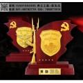 老兵退役奖牌,部队干部转业纪念品,光荣退伍纪念品定制