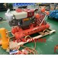 速度快便携式打桩机厂家防汛抢险柴油植桩机