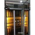 臻佳专业定制不锈钢红酒柜不锈钢展示架酒窖红酒架