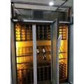臻佳不锈钢酒架、厂家欧式不锈钢恒温酒柜玫瑰金酒柜