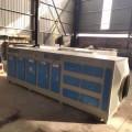 定制活性炭吸附箱喷淋塔废气处理设备除臭烤漆房漆雾净化塔
