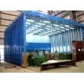 伸缩移动喷漆房15米报价方案