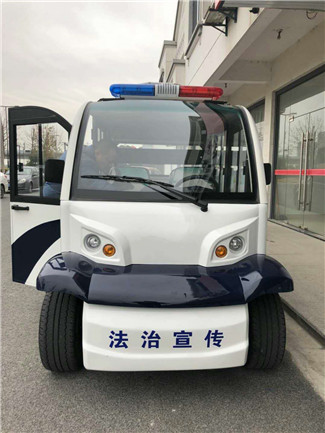 优质(6-8)座电瓶巡逻车价钱_益阳高配四轮巡逻车供应