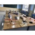 航模教學模型 橡筋動力 太陽能動力 電動模型 中小學航模室