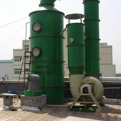 万玖除臭气喷淋塔风量大净化废气使用寿命长