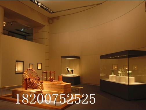 隆城展示博物馆展柜设计制作步骤