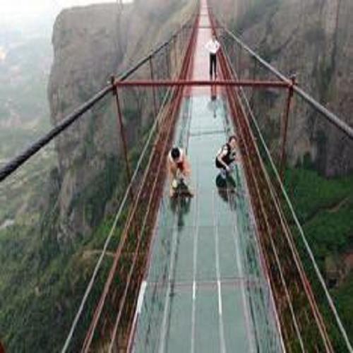 重庆玻璃吊桥价格