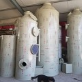 常州PP喷淋脱硫脱硝除尘旋流塔废气净化设备厂家直供