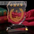 消防部队战友聚会礼品 定制批发老兵聚会纪念品 水晶摆件