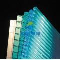 苏州厂家供应PC双层阳光板  湖蓝色 草绿色