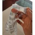 TPU透明洗标/磨砂洗标上海工厂