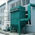 2吨生物质锅炉除尘器安装原理结构图