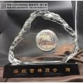 商会周年实用水晶礼品  定制商会礼品 专业制作水晶工艺品