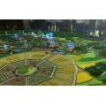 長沙精創沙盤模型公司專業低價承接湖南各地農旅開發地形沙盤制作